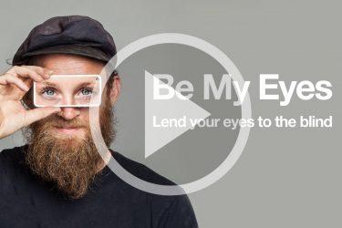 Be My Eyes - App voor visuele beperking