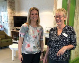 Op bezoek bij Corry Jentink van Marga Klompe voor somatische ouderenzorg.