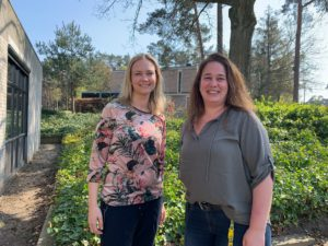 Eveline Bouwman en Mariken Houtzager van Pluryn